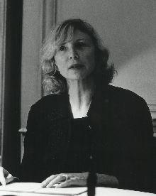 Aurore Clément, actrice, prése...